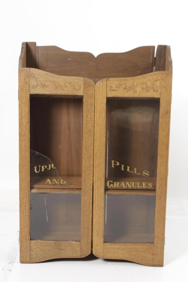 Victorian Oak Apothecary Cabinet