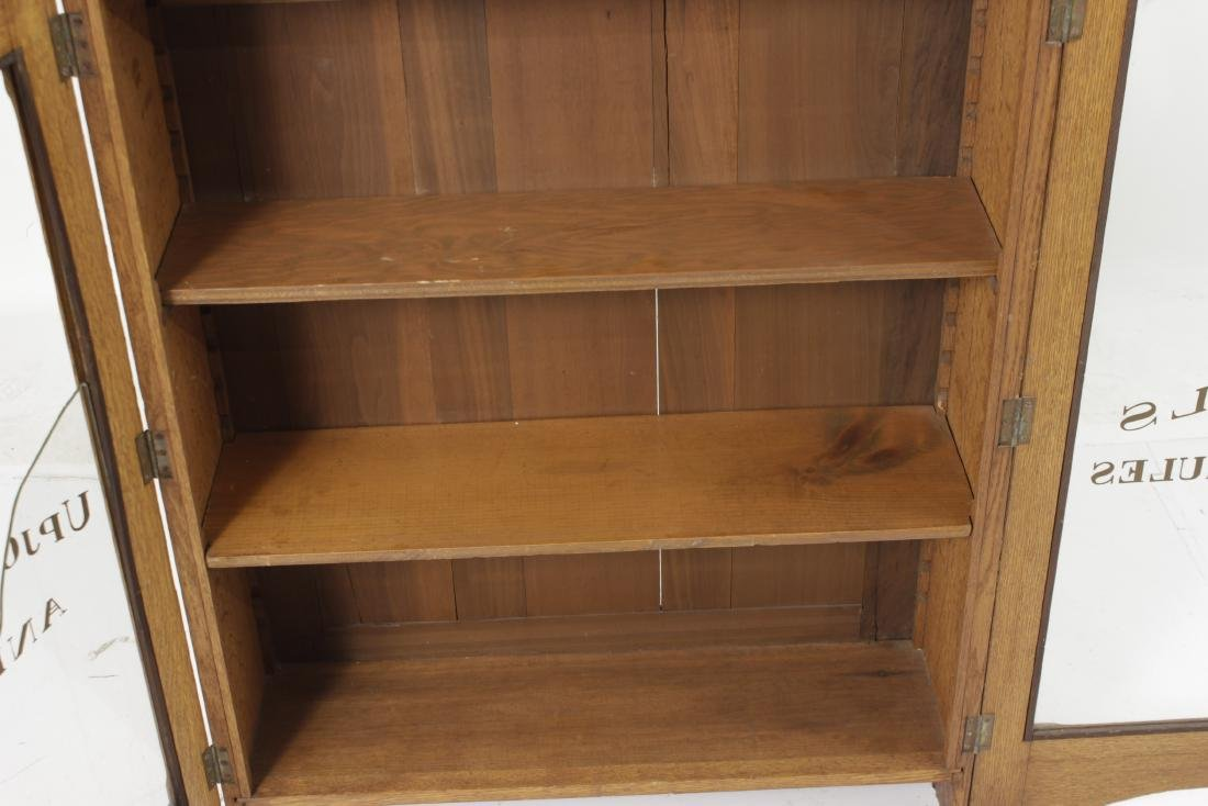 Victorian Oak Apothecary Cabinet - 5
