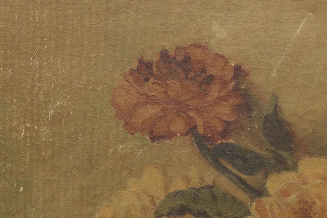 20th C. Floral Still Life Painting - 2