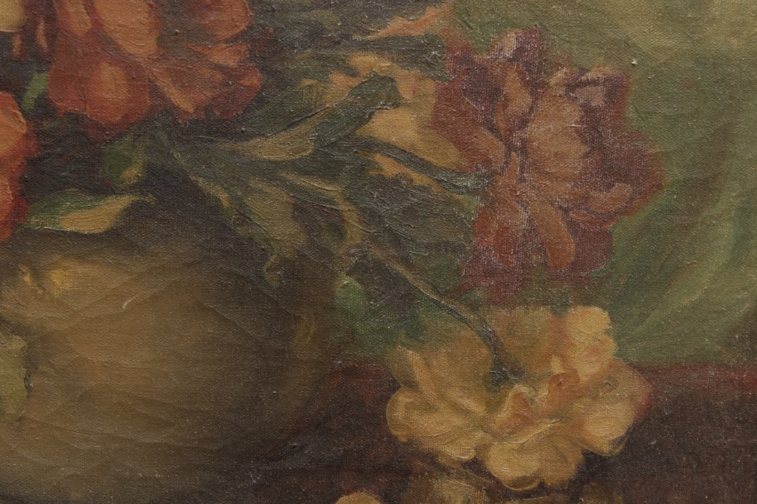 20th C. Floral Still Life Painting - 3