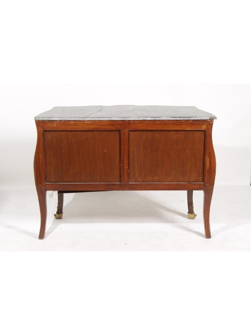 Unusual Bombe Marquetry Commode - 10