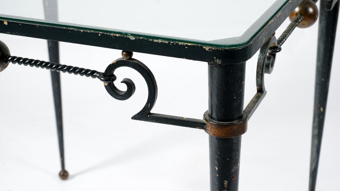 Gilbert Poillerat Wrought Iron Table - 2