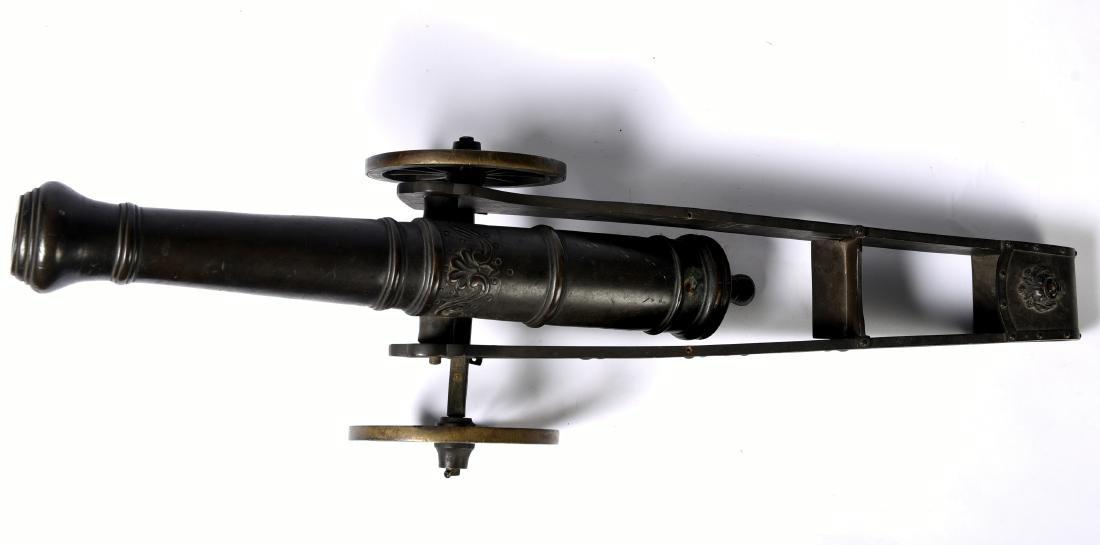 Antique Bronze Signal Cannon - 4
