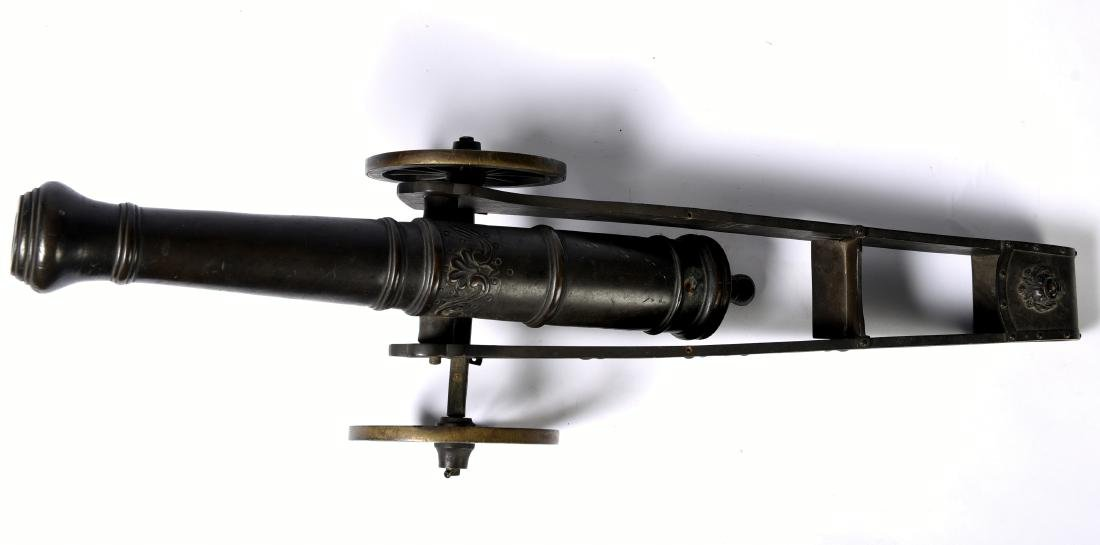 Antique Bronze Signal Cannon - 4