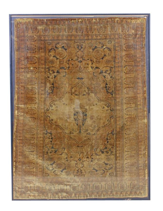 Finely Woven Antique Tabriz