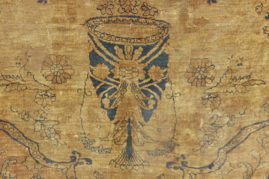 Finely Woven Antique Tabriz - 2