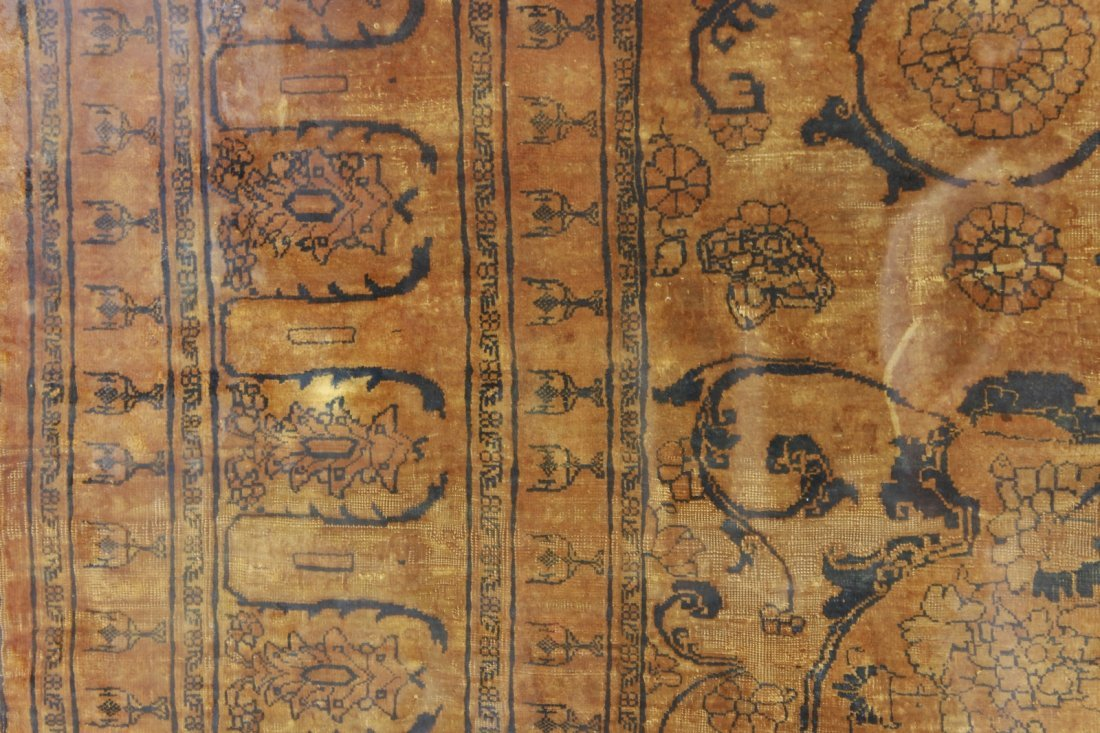 Finely Woven Antique Tabriz - 3