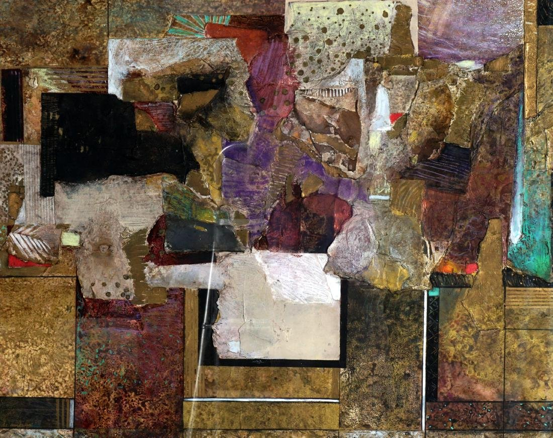 Jim Jardine Mixed Media Collage - 2