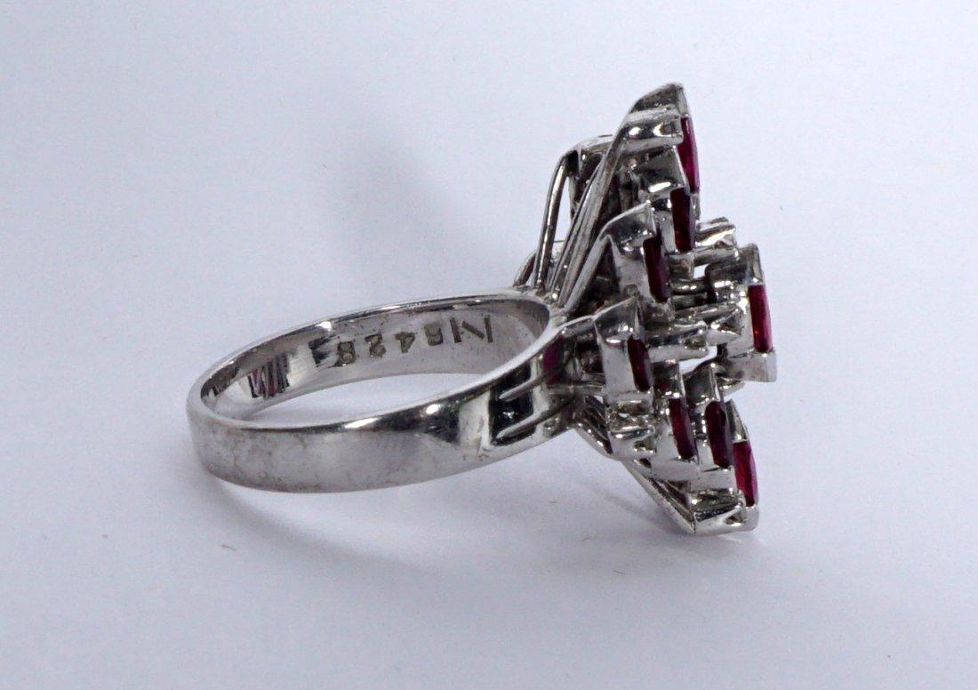 Ladies Gold Ensemble 18K 14K Ring Earrings Pendant - 4