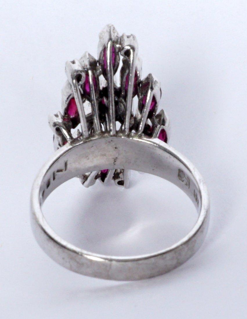 Ladies Gold Ensemble 18K 14K Ring Earrings Pendant - 5