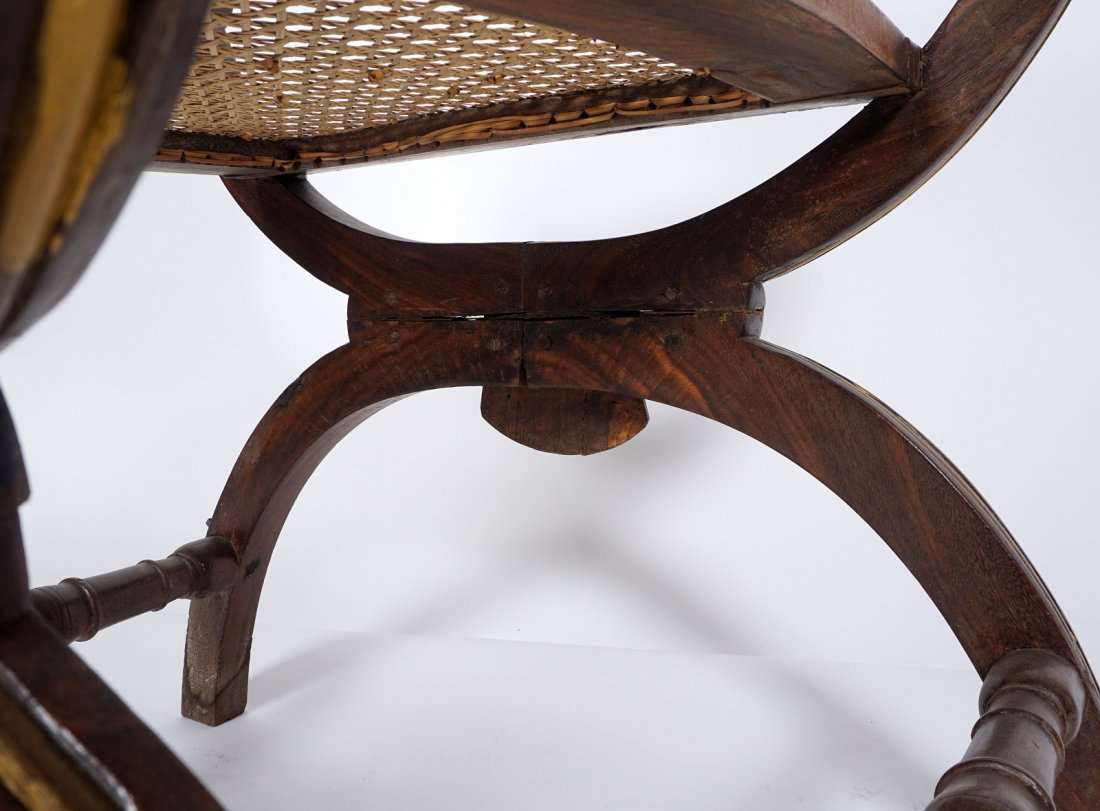 Pr Anglo-Indian Or British Colonial Armchairs - 5