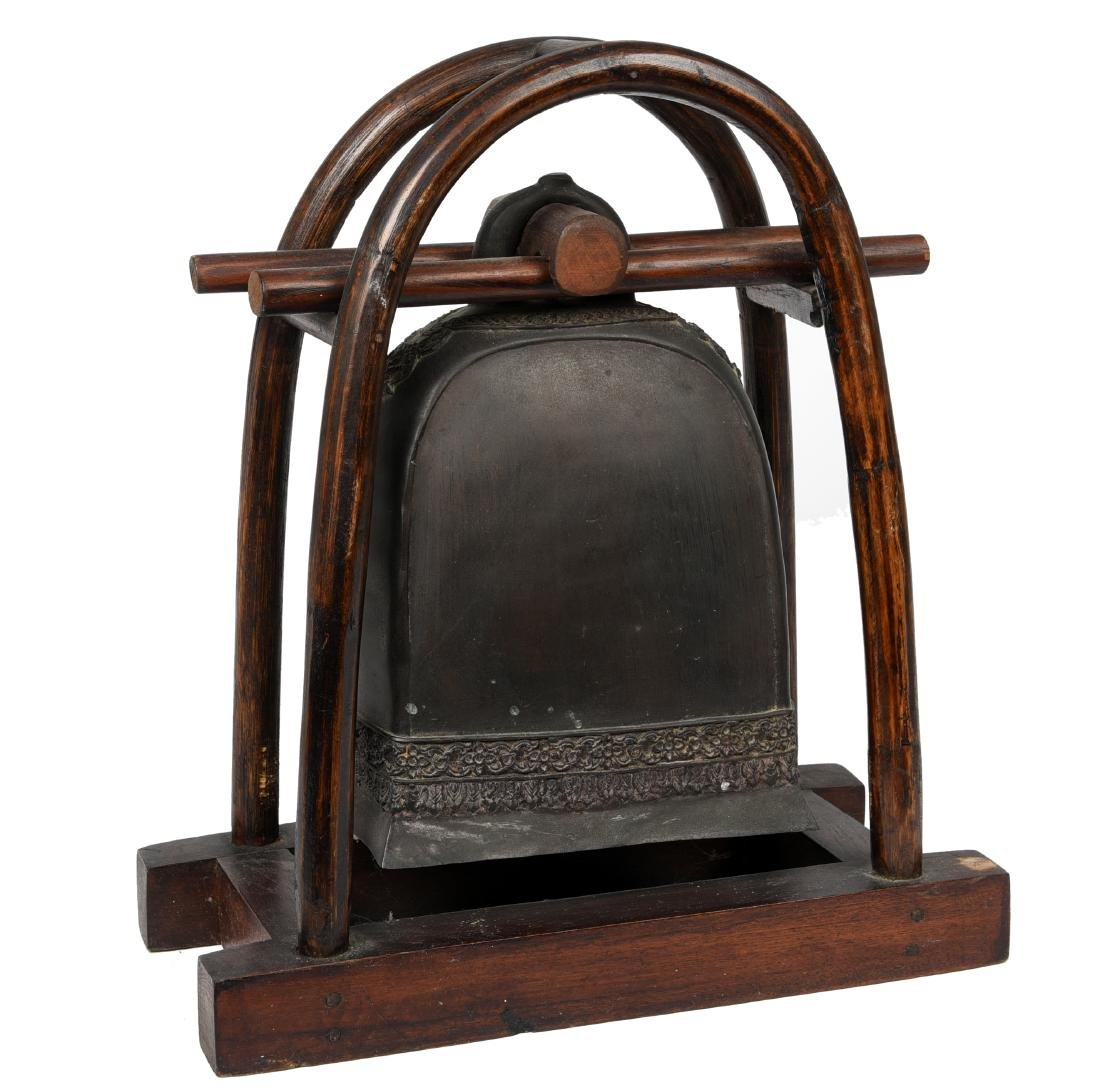 Asian Bronze Elephant Bell Gong