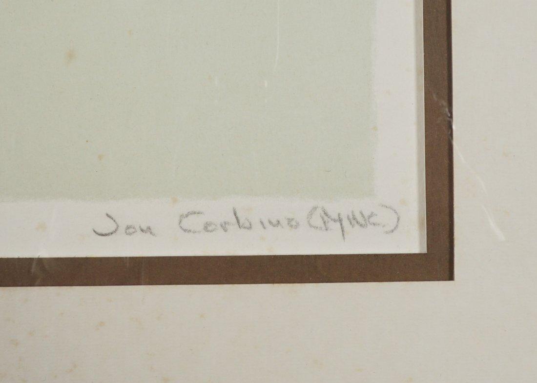 Jon Corbino (1905-1964) Litograph - 3