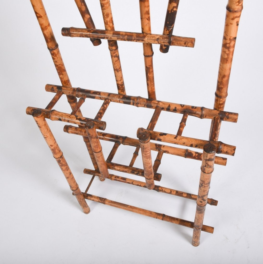 Burnt Bamboo Hall Rack - 4