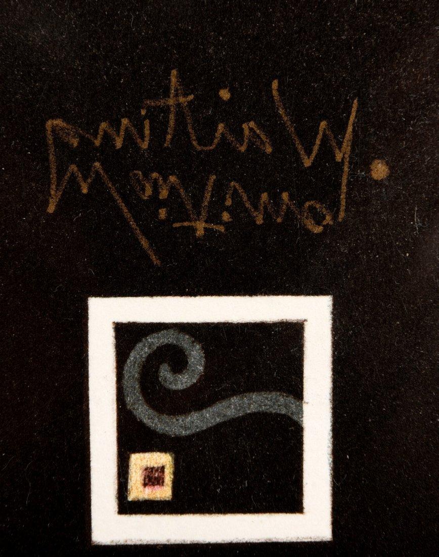 "Michael Parkes Stone Lithograph ""Waiting"" #27/12 - 2"