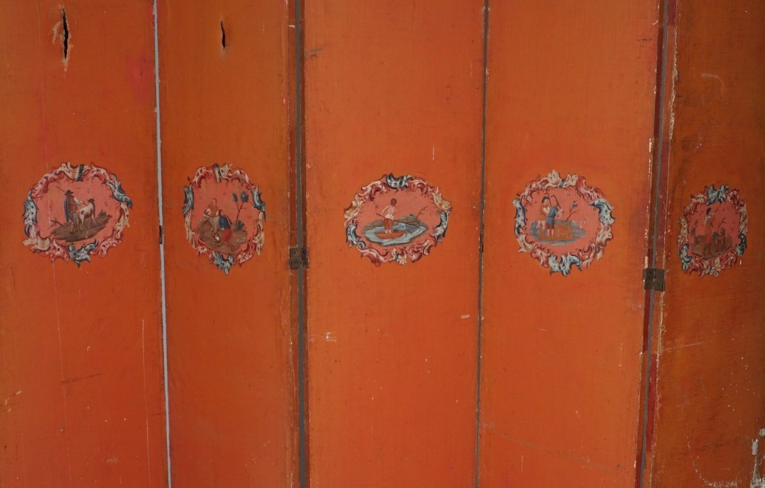 Chinese Five Panel Room Divider - 2
