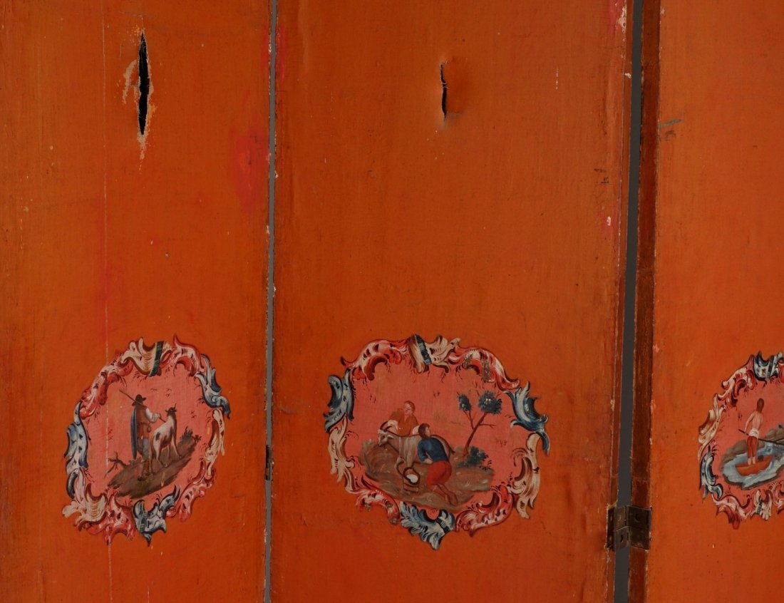 Chinese Five Panel Room Divider - 3