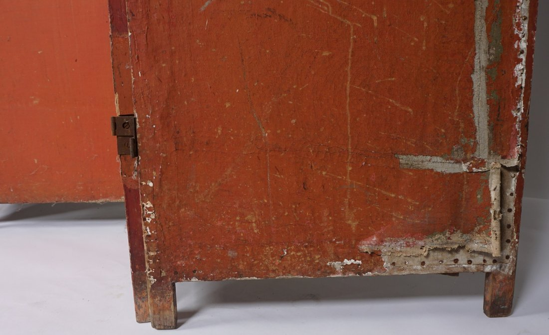 Chinese Five Panel Room Divider - 6