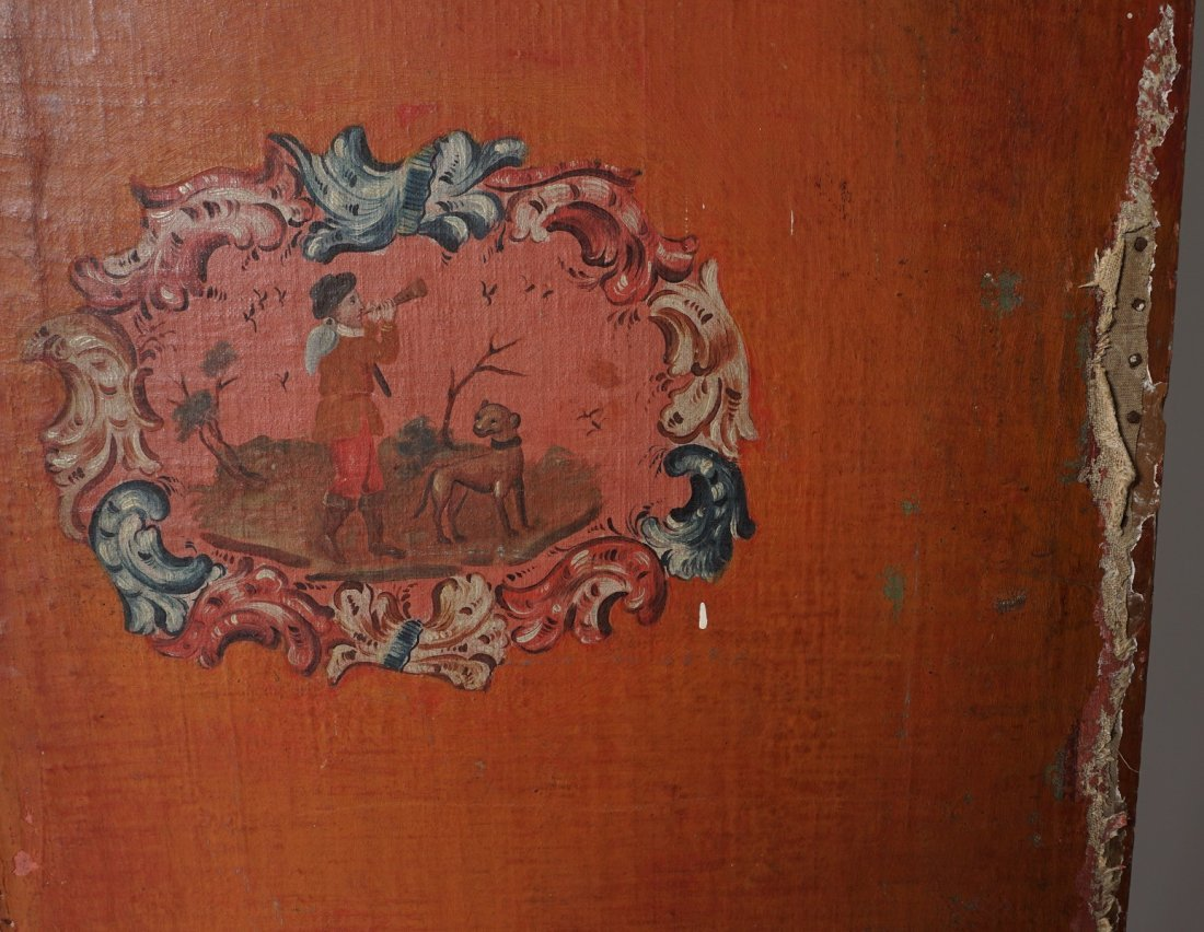 Chinese Five Panel Room Divider - 7