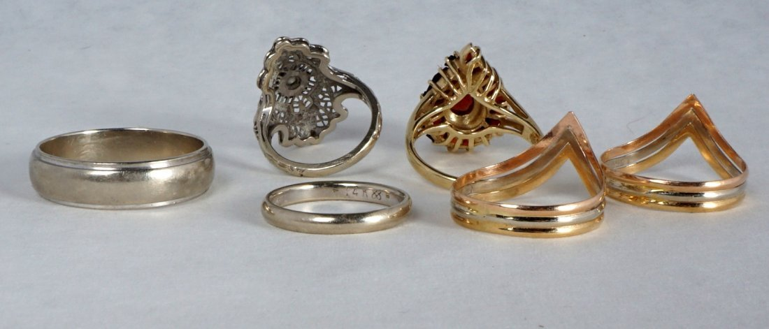 Nine Pc Lot 14k Gold Jewelry Approx 21.8 Grams - 3