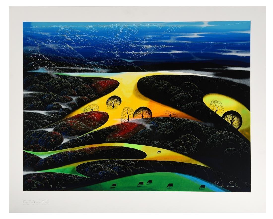 "Eyvind Earle Serigraph ""Sunset Magic"" # Pp 1/5"