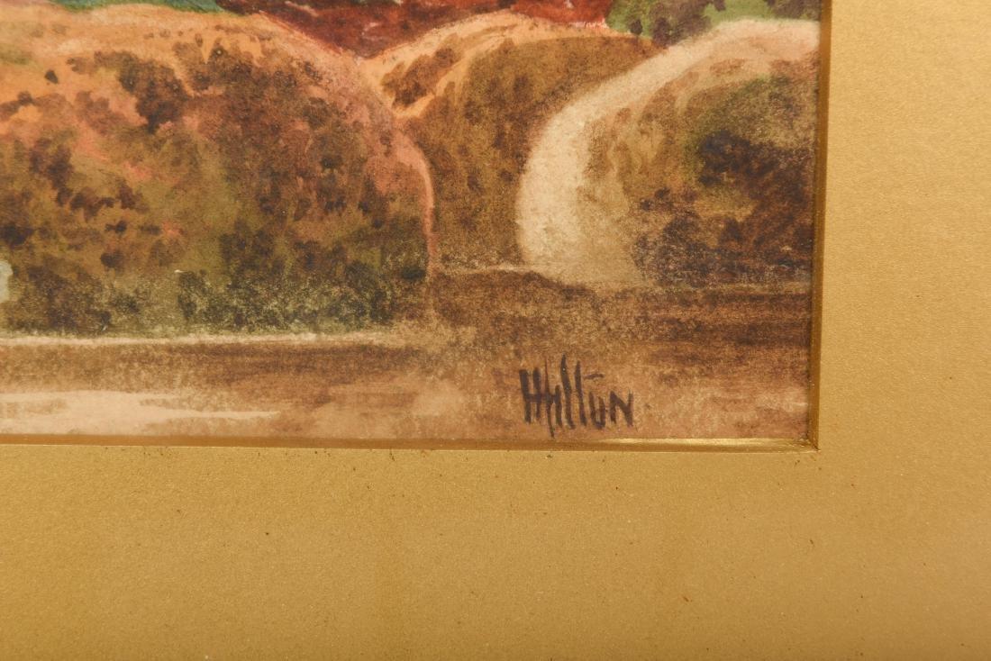 Set Six Watercolors by Henry Hilton - 3