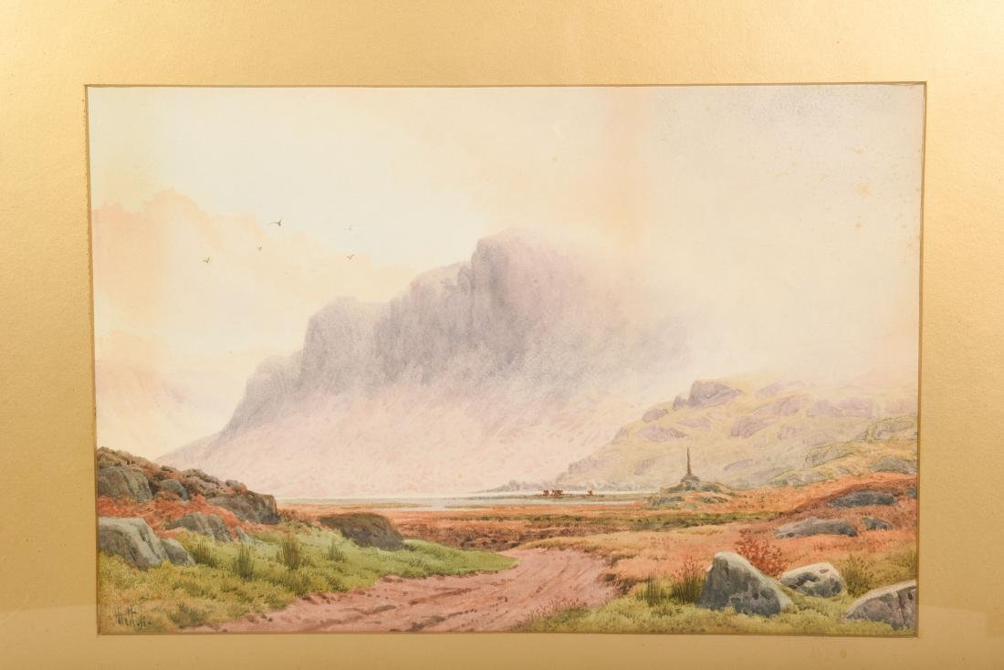 Set Six Watercolors by Henry Hilton - 4