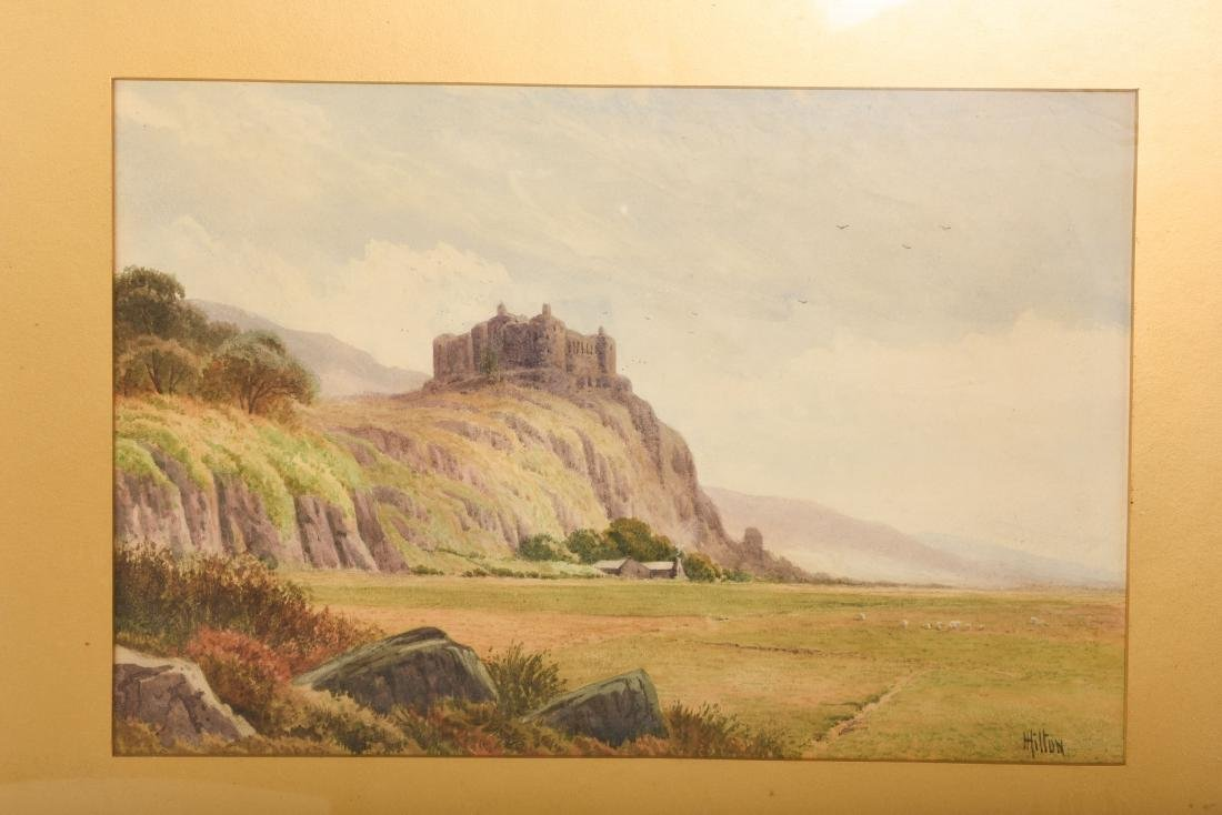 Set Six Watercolors by Henry Hilton - 5