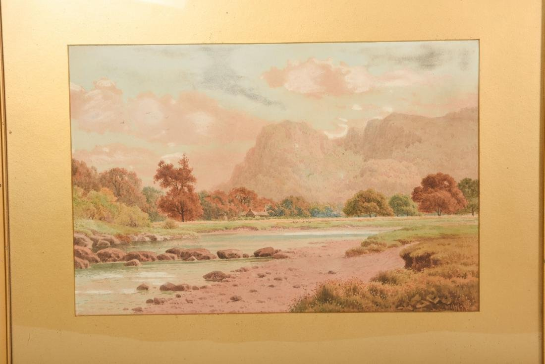 Set Six Watercolors by Henry Hilton - 6