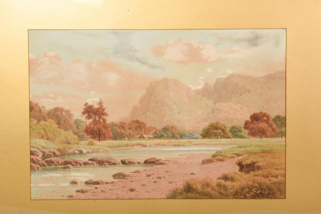 Set Six Watercolors by Henry Hilton - 7