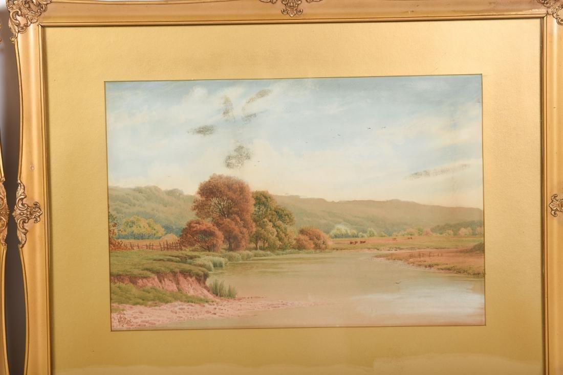 Set Six Watercolors by Henry Hilton - 8