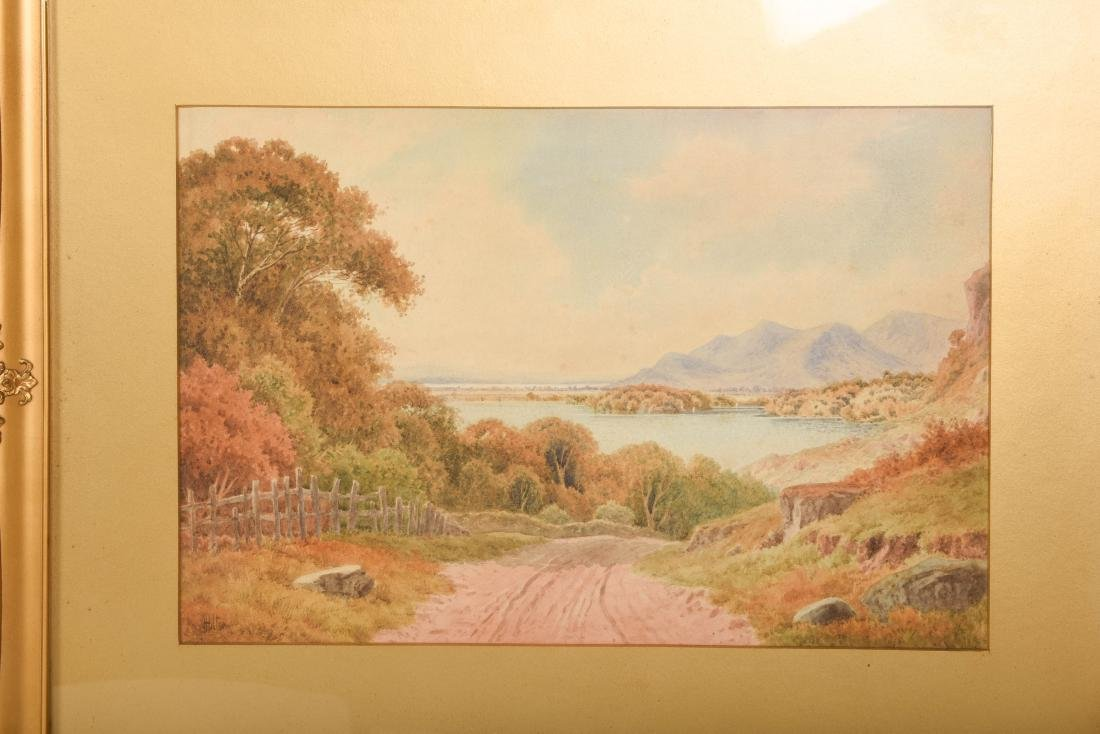 Set Six Watercolors by Henry Hilton - 9