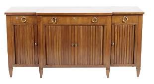 WIDDICOMB Regency Style Breakfront Cabinet
