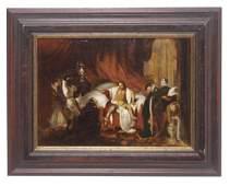 Old Master Historical Scene,18th C