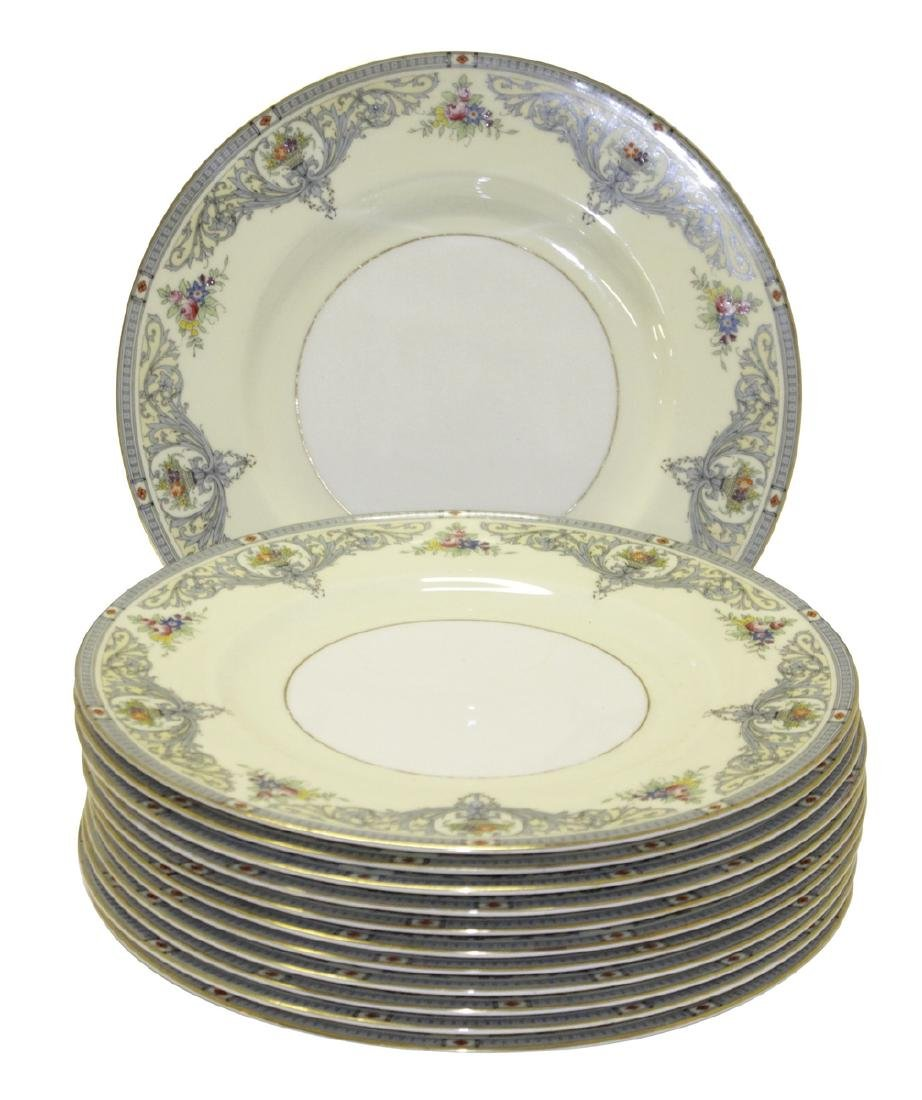 ROYAL WORCESTER 'The Duchess' Dinner Plates