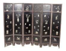 Chinese Six Panel Screen