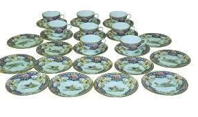 Partial Set of 'Old Sevres Shelley China Set