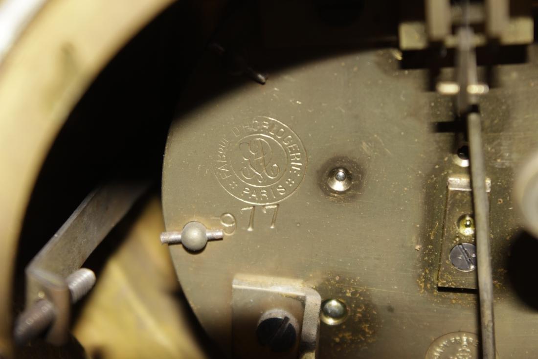 Louis XVI Style Bronze Clock - 8