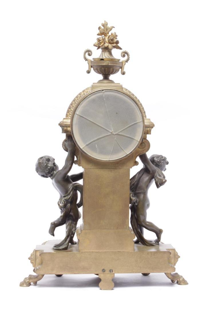 Louis XVI Style Bronze Clock - 9