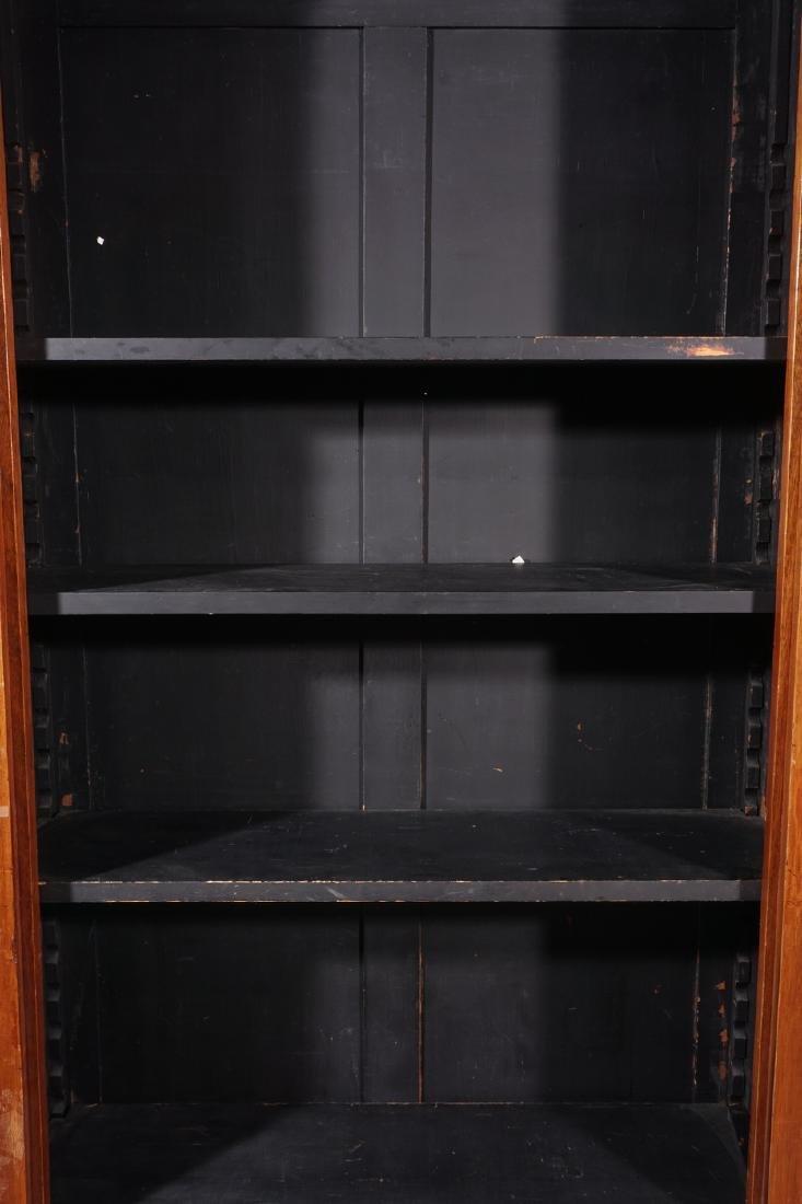 Empire Style Mahogany Bookcase - 2
