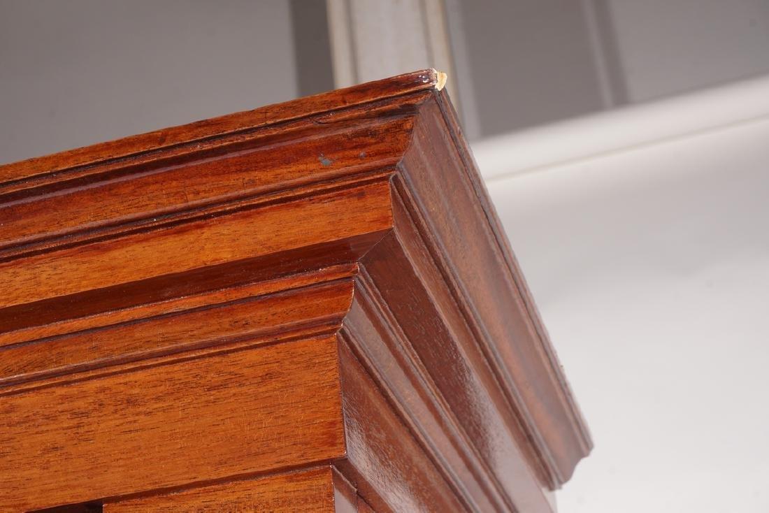 Empire Style Mahogany Bookcase - 4