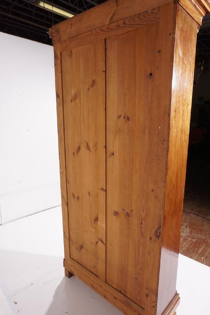 Empire Style Mahogany Bookcase - 6