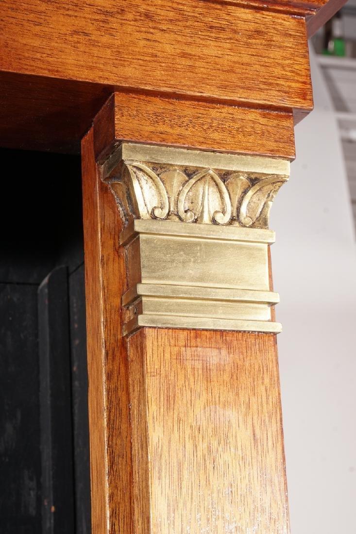 Empire Style Mahogany Bookcase - 8