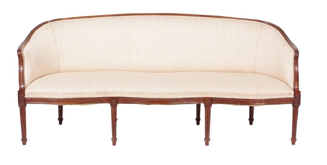 19th C Louis XVI Style Canape