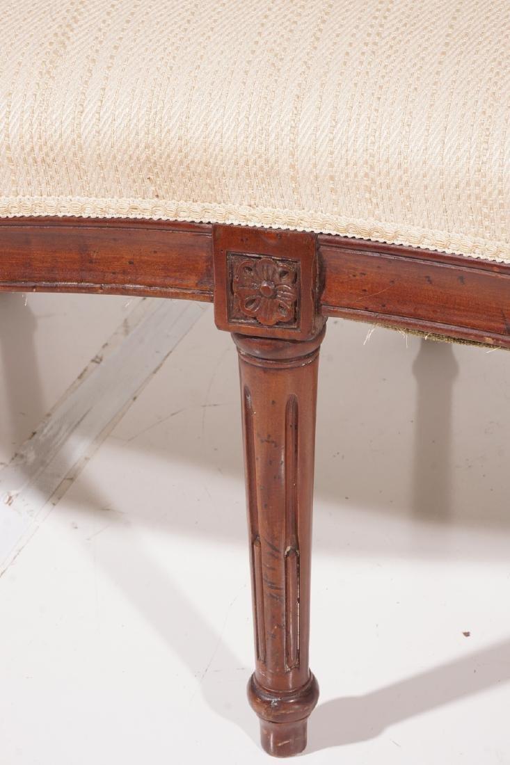 19th C Louis XVI Style Canape - 4
