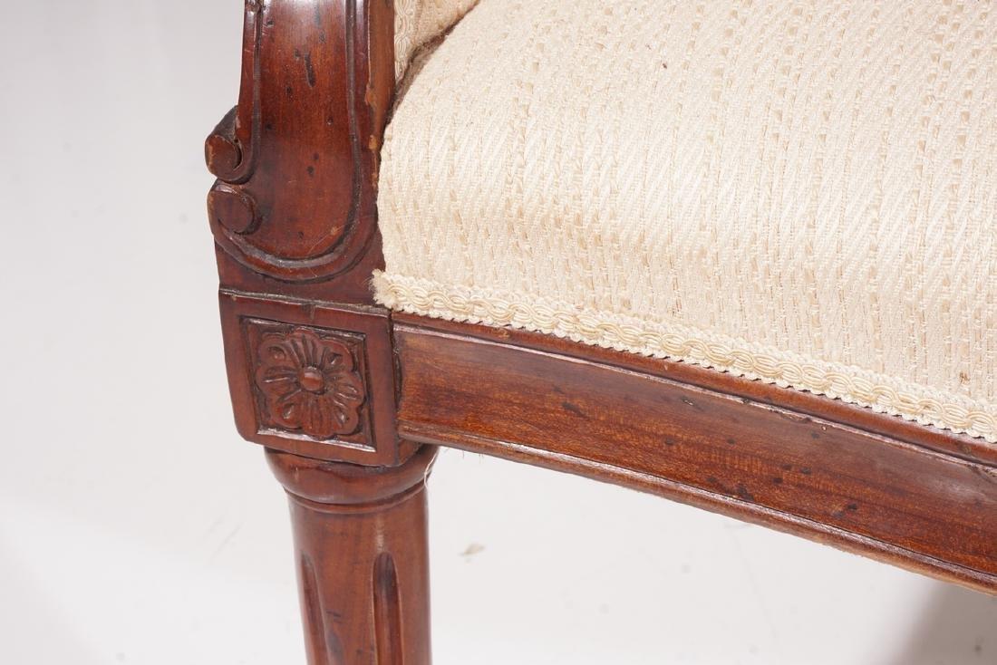 19th C Louis XVI Style Canape - 5