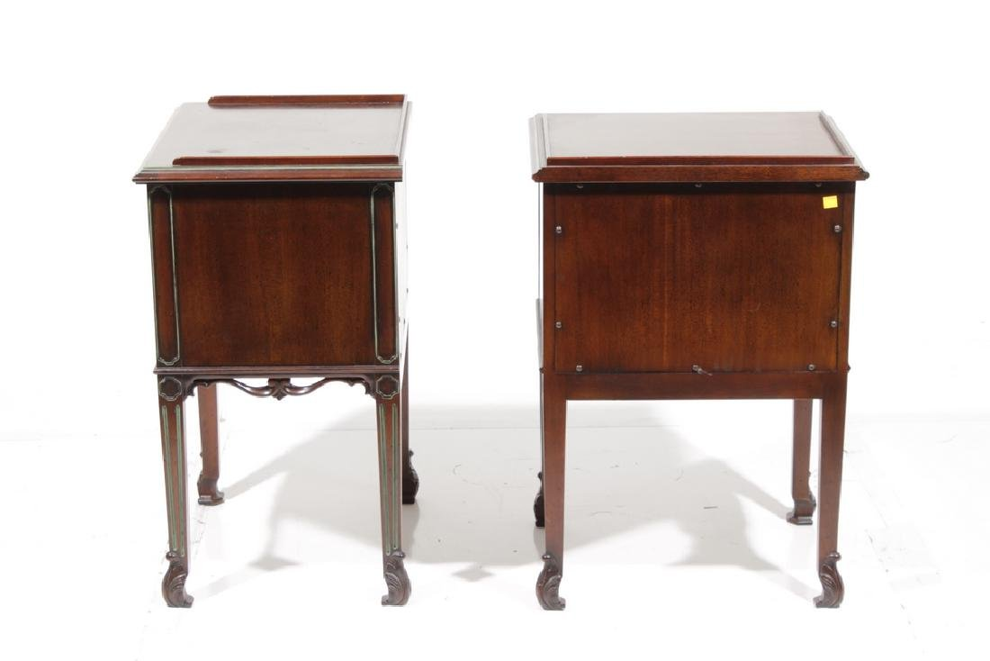 Pair WIDDICOMB Two (2) Drawer Bedside Cabinets - 4