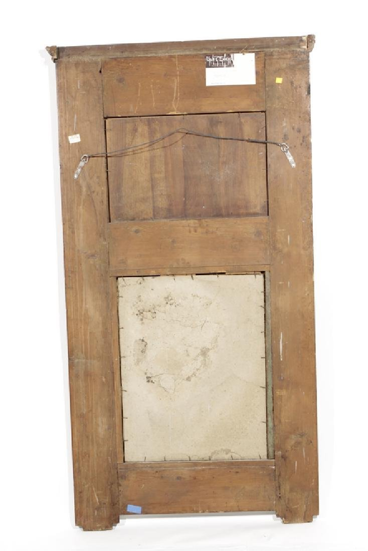 Antique French Trumeau Mirror - 5