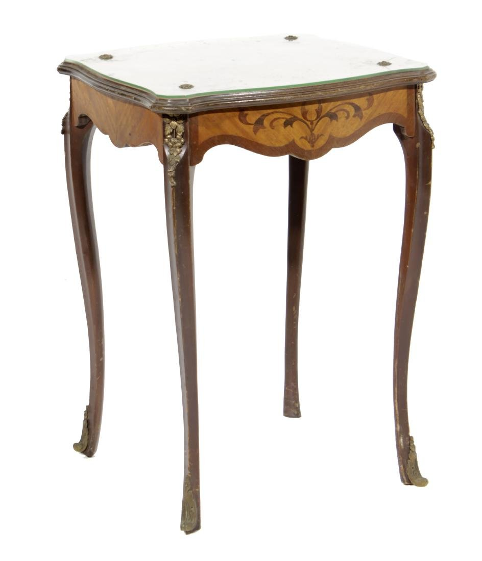Louis XV Style Diminutive Side Table