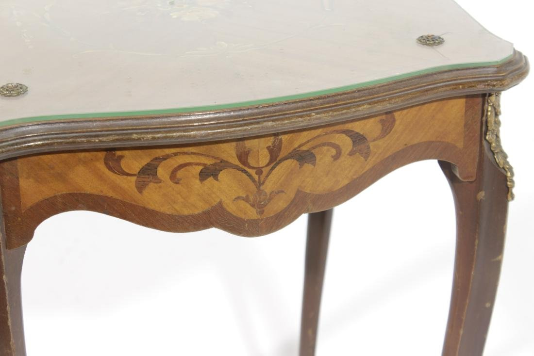 Louis XV Style Diminutive Side Table - 2